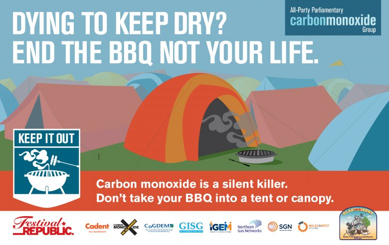 Dying to keep dry? End the BBQ, not your life.