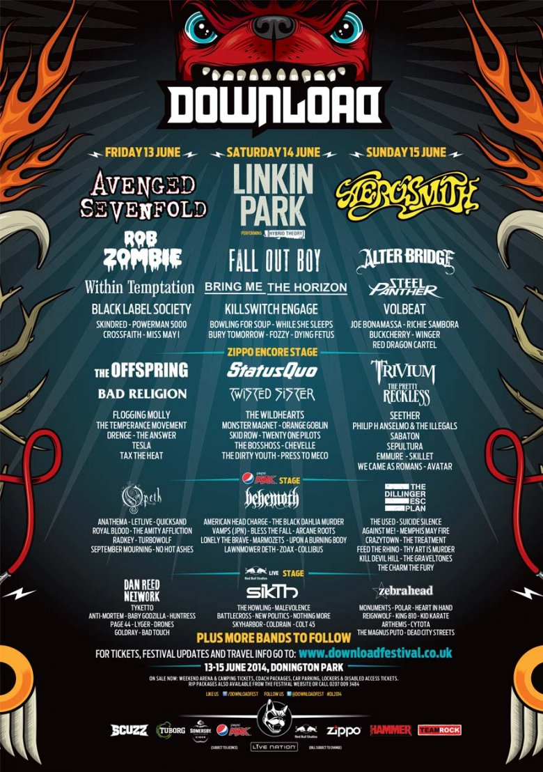 Download Festival | DOWNLOAD 2014 - Download Festival