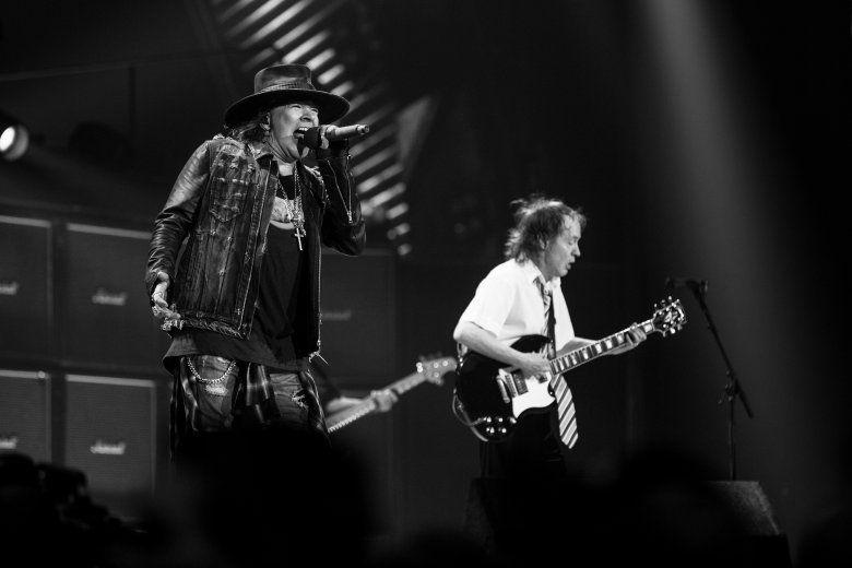 Axl Roses AC/DC