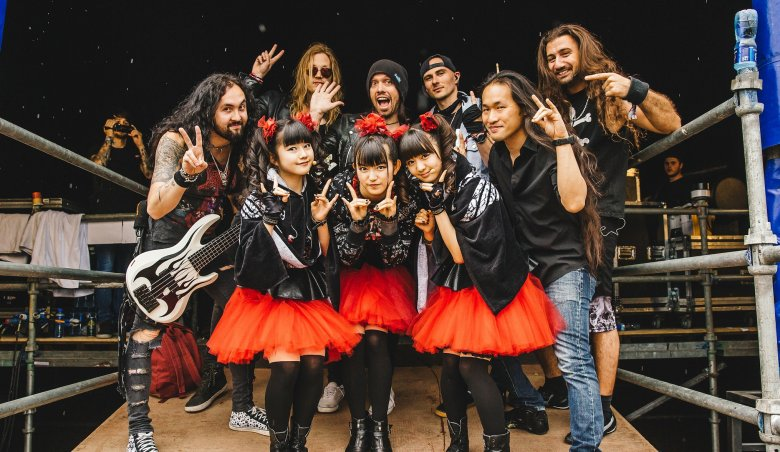 Babymetal-Dragonforce