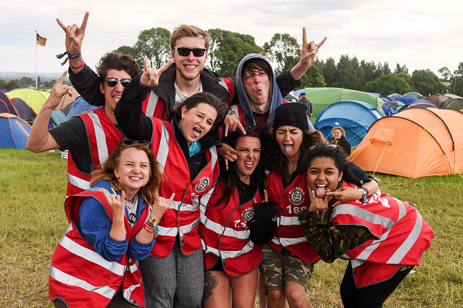 Volunteer at Download and get entry to the festival for free!