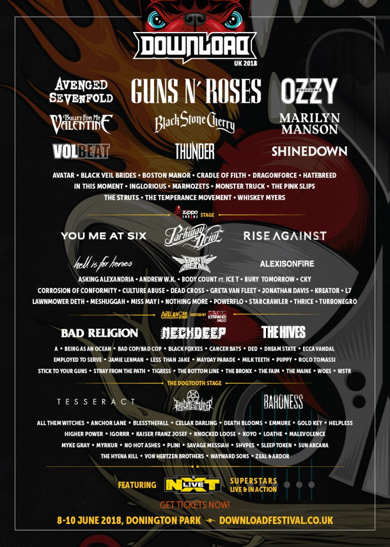 Download 2018 Line Up Poster