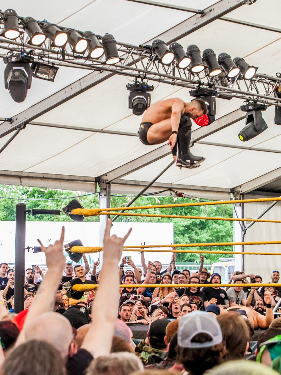 WWE NXT Live! & 21 More Bands Added to #DL2018