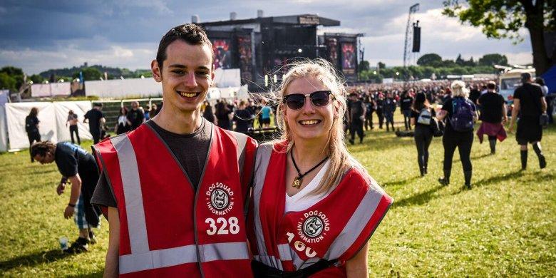 Download Festival volunteering