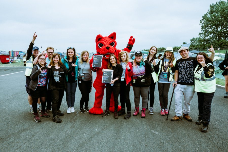 Download Festival 2018 Awarded The Gold Standard by Attitude Is Everything for Accessibility