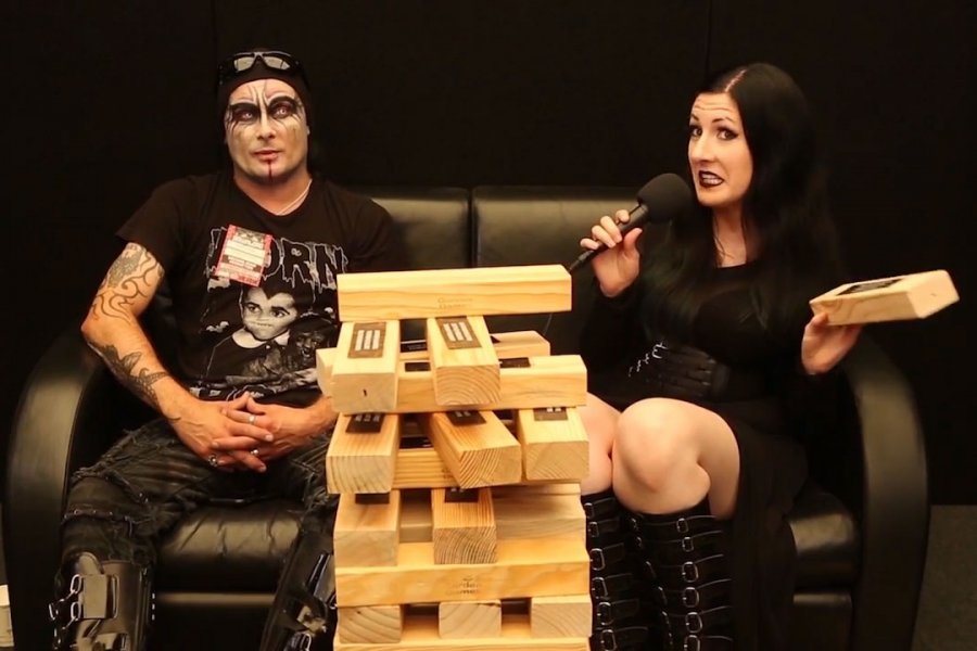 Watch Cradle Of Filth's Backstage Interview at #DL2018