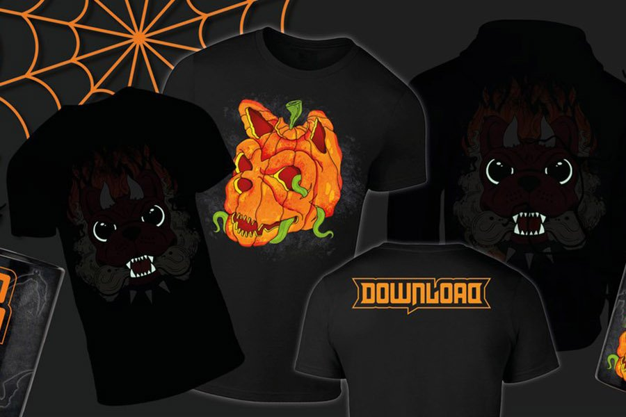 Limited edition Download Halloween Merch on sale now!