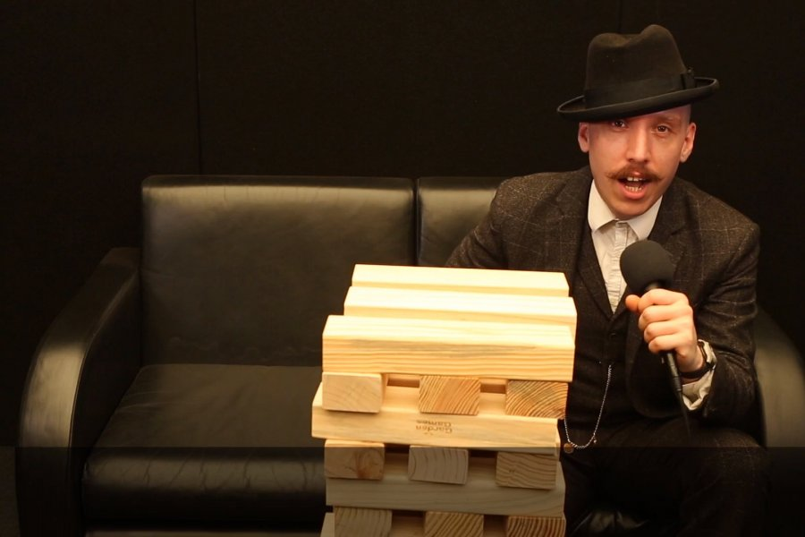 Watch Jamie Lenman's backstage interview at #DL2018