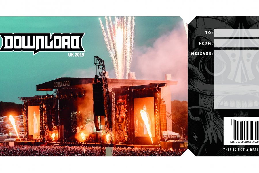 Get the Download Festival Gift Certificate