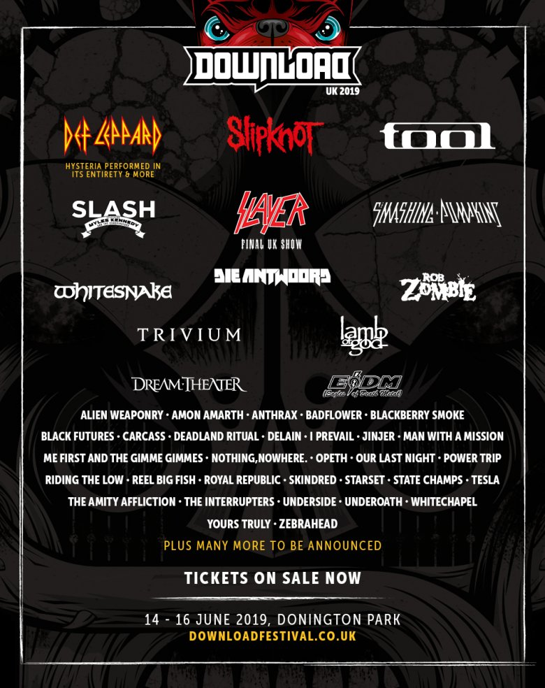 Download 2019 Line Up