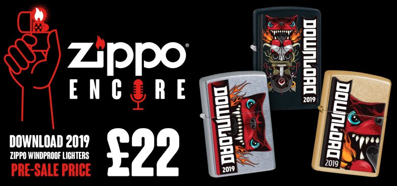 Download Festival | Put Your Download Festival Zippo