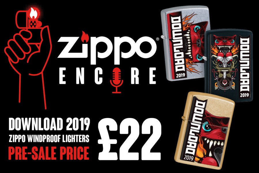 Put Your Download Festival Zippo Lighters Up!