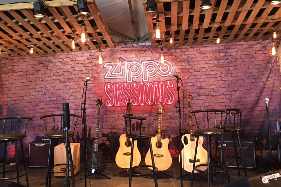 Rock out at #Zipposessions