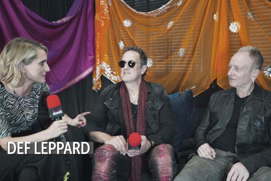 Watch us talk with Def Leppard, Alien Weaponry, Jim Breuer and more at #DL2019