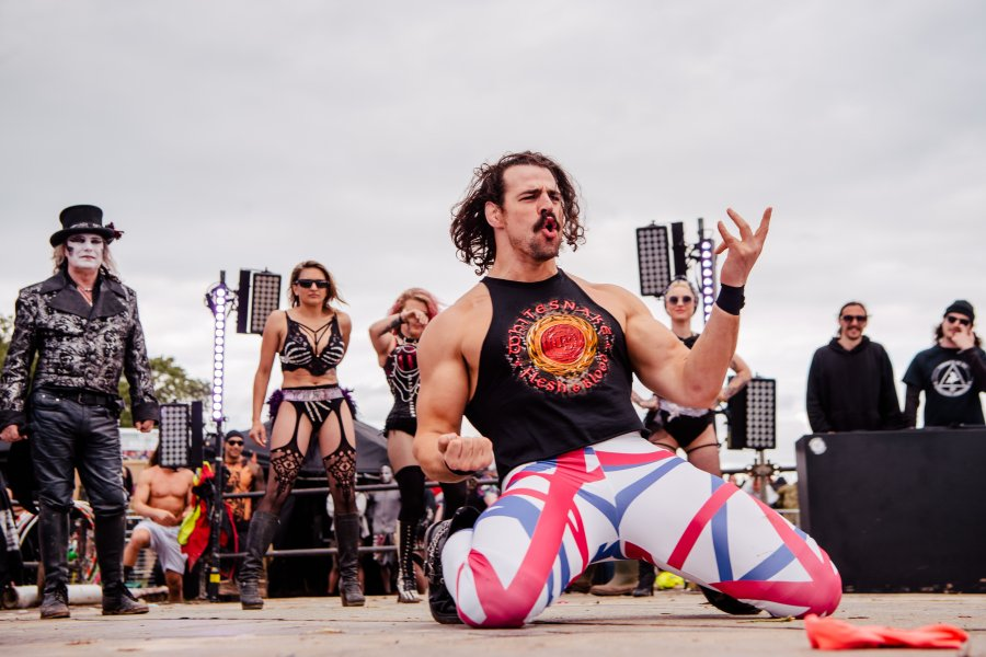 Watch the UK Air Guitar Championships at #DL2019