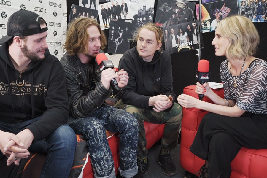 "Video Interview: Alien Weaponry ""Our songs turn out to be whatever we vomit up"""