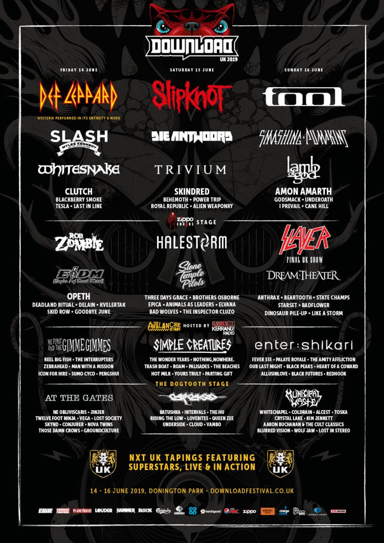 Download 2019 Line Up Poster
