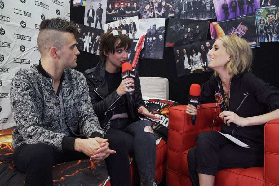 Watch Halestorm talk Alice Cooper, The Grammys and more at #DL2019
