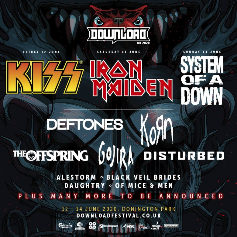 Download Festival 2020.Download Festival It S Time For Your First Dl2020