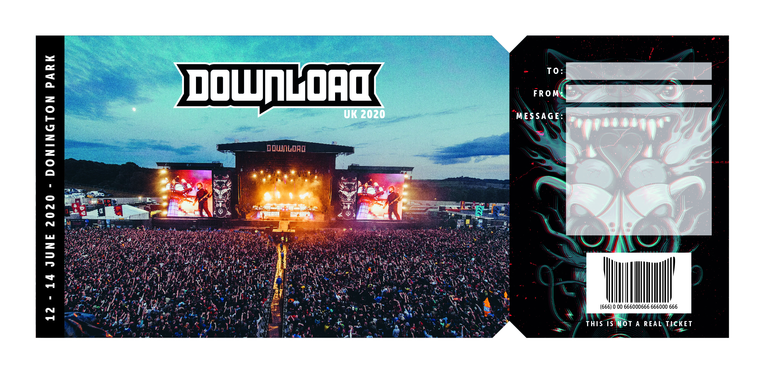Download Festival | The #DL2020 Gift Certificate is now