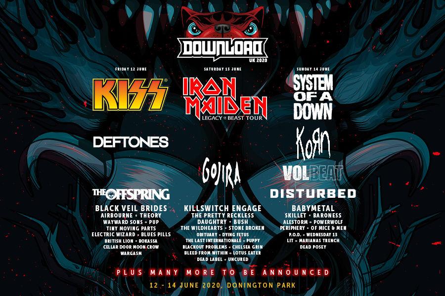Download Festival 2020.Download Festival Download Festival 12th 14th June 2020