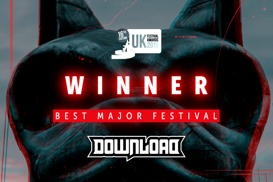 Download 2019 Wins Best Major Festival at UK Festival Awards!