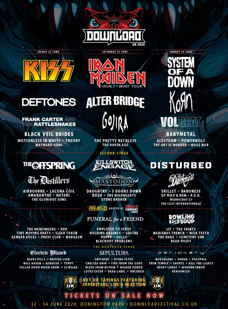 Line up poster