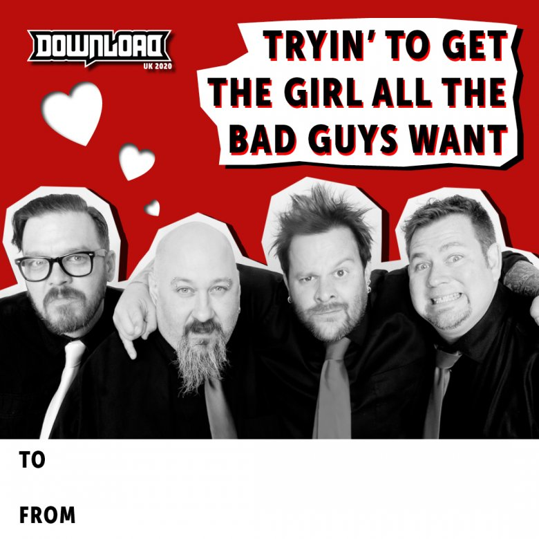 Bowling For Soup Valentine's Day Card