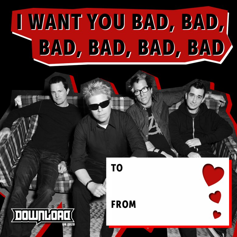 The Offspring Valentine's Day Card