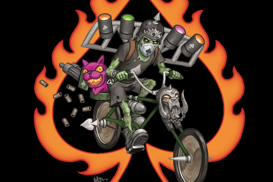Join The Heavy Metal Truants On A Virtual Bike Ride!